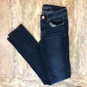 American Eagle Skinny Stretch Jeans in 2 Long
